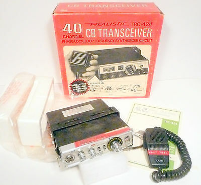 Guaranteed to Work *  LAKE  CB TRANSCEIVER - 23 CHANNEL - in a Realist Box