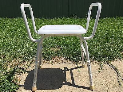 SHOWER CHAIR - AS NEW:  CARE EQUIP model