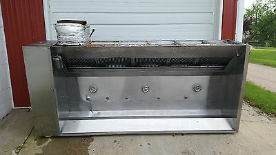 "9' Foot Captive Aire Systems Hood 31110FP 208 Volt 109"" x 27"" x 30"""