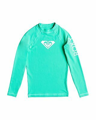 NEW ROXY™  Girls 8-14 Whole Hearted Long Sleeve Rash Vest Teens Surf