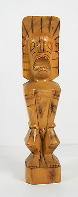 Vintage Hand Carved Wooden Male Figurine