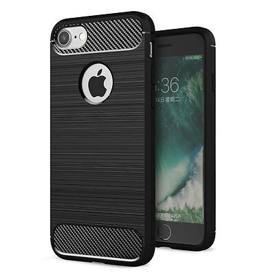 Ultra-Thin Shockproof Silicone Rubber Back Case Cover For Apple iPhone 6 6s Plus