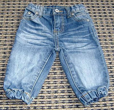 Seed Baby Boys Harem Jeans Sz 6 - 12 Months
