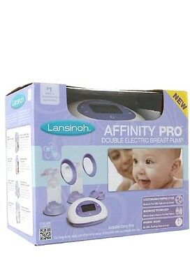 Lansinoh Affinity Pro * Double Electric Breast Pump * New, Sealed