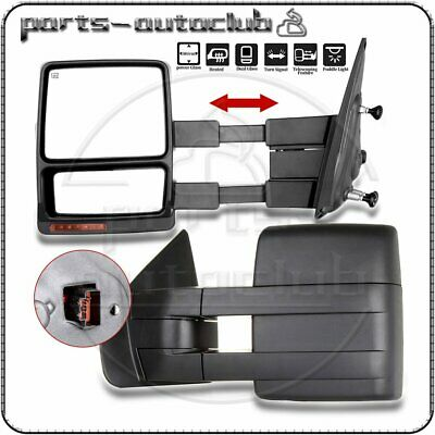 Towing For 04-06 F-150 Truck Side Mirrors Power Heated Led Signals Pair