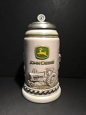 John Deere Licensed Collectible Stein/mug Avon Product Brazil Great Condition!