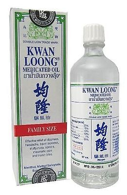 KWAN LOONG Aromatic Oil for Fast Pain Relief headache Migraine Aches 57 ml