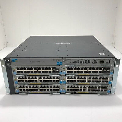 HP ProCurve 5406zl Switch Chassis J8697A ! Fully Populated !