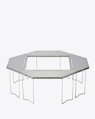 New Snow Peak Jikaro Table For Firepit  Camping Outdoor Open Fireplace St-050