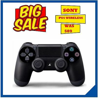 NEW Playstation 4 Controller DualShock Wireless for Sony PS4 Jet Black