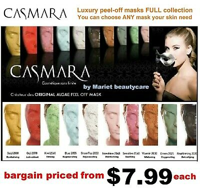CASMARA peel off masks FULL Collection-CHOOSE ANY Luxury facial mask you need