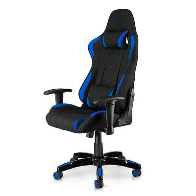 Office Chair Executive Racing PU Computer Adjustable Gaming Armrest Chair Racer