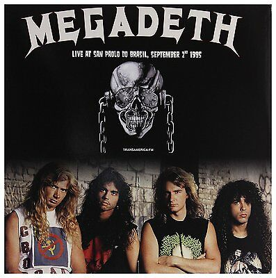 Megadeth - Live at San Paolo do Brasil, September 2nd 1995 (2017)  180g LP  NEW