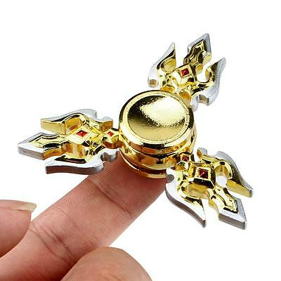 3 Fork Hand Finger Spinner EDC Focus Stress Reliever Toys Tool For Kids Adults