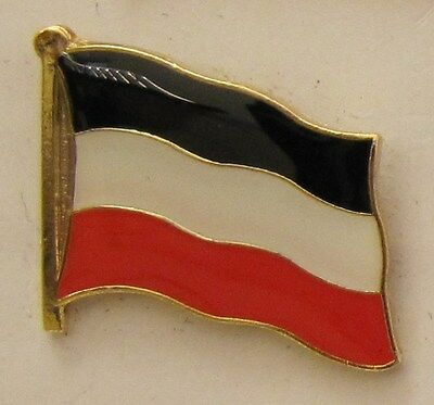 Pin Anstecker Flagge Fahne Deutsches Kaiserreich Flaggenpin Badge Button