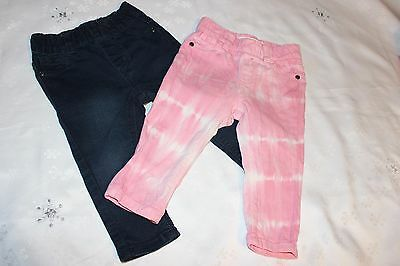 Baby Girls Jeggings / Pants COTTON-ON size 1 x2