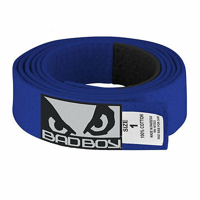 Bad Boy BJJ Gi Belt Blue