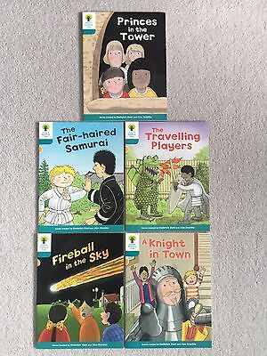 Oxford Reading Tree Level 9 Book Band Gold, Biff Chip Kipper 5 Books As New