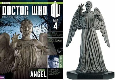 Doctor Who Figurine Collection #Part 4 Weeping Angel #DOC1 - Free p&p Used