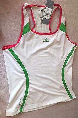 Womens Adidas Size 16 Barricade Climalite TENNIS top - BNWT - v39070 ONE ONLY