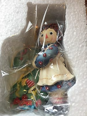 Raggedy Ann Andy So Much To Do When You Turn Two Figurine enesco balloon 823716