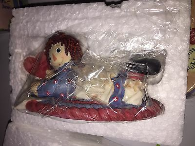 Enesco Raggedy Ann andy Figurine New #640468 you with My Hearts Best Love