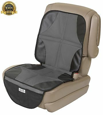 New One Summer Infant Baby Child DuoMat for Car Seat Waterproof Protector Black
