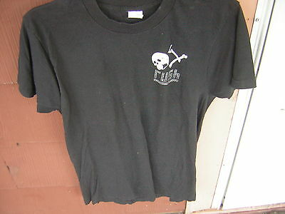 Rush T Shirt Vintage 1991 Size Large Roll The Bones Geddy Lee Alex Lifeson