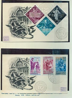 MALTA 1960/67 MNH MM Used Collection To 1 Pound (Approx 100 Stamps) AU7732