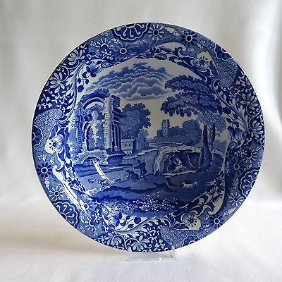 Copeland Spode Italian Pattern Blue & White Large Fruit Bowl or Serving Dish