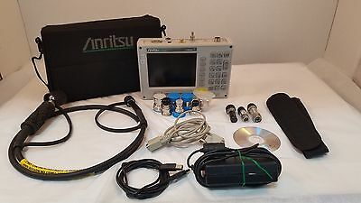 Anritsu S820D Broadband Cable & Antenna Analyzer 25MHz to 20GHz w/ Accessories