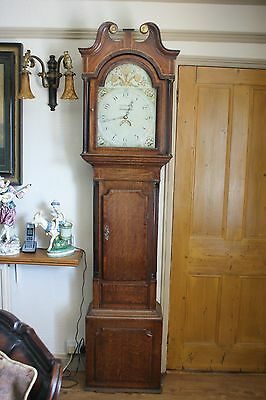 19 Th. Century Longcase Clock.