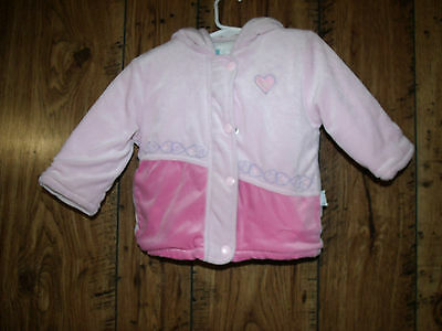 Toddler Girl's 24 M Pink Warm Hooded Coat Little Me
