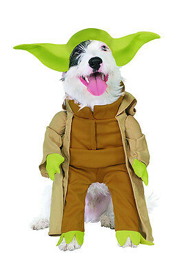 Star Wars Classic Yoda Pet Costume - 4 sizes The Force is Strong in this One fnt