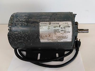 General Electric Motor 1/2HP (.5hp) 115v 1725rpm 5KH38SN15 A-C Motor MADE IN USA