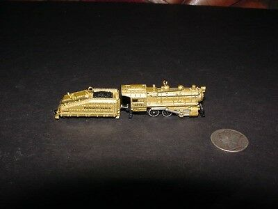 2007 Lionel - STEAM LOCOMOTIVE + TENDER - miniature Hallmark Christmas ornaments