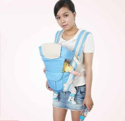 85baad8d23d 0-30 months baby carrier kids sling backpack pouch wrap Newborn Infant  Cotton