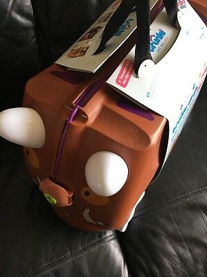 Trunky 10208 Gruffalo Children's Trolley Case Trunki Ride On Suitcase New Boxed