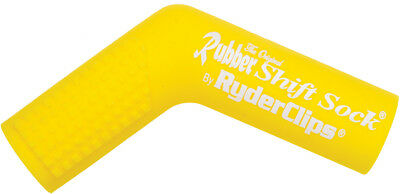 Ryder Clips Rubber Shift Sock (Yellow) RSS-YELLOW