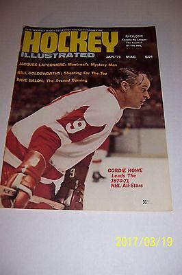 1970 71 HOCKEY Illustrated NHL ALL STAR Detroit Red Wings GORDIE HOWE Bobby HULL