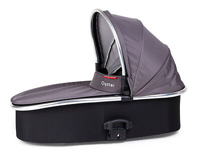 Oyster Max Carry Cot - Slate Grey