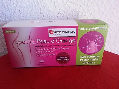 FORTE PHARMA specific peau d'orange. Cure 1 mois. + ventouse palper-rouler Neuf