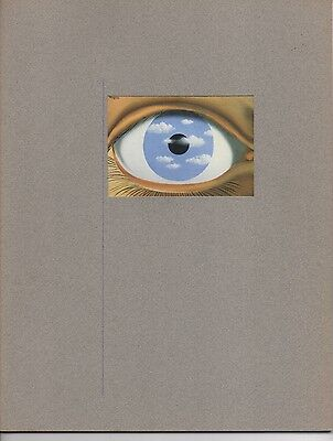 Magritte exhibition catalogs and pamphlets