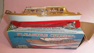 Modellboot ELECTRIC PLEASURE CRUISER - Motor ohne Funktion, ca. 23cm