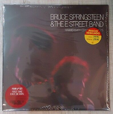BRUCE SPRINGSTEEN Hammersmith Odeon, London ´75 VINYL 4LP RSD 2017 1st press NEW