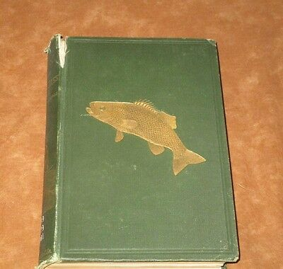 BOOK OF THE BLACK BASS - HENSHALL - 1st EDITION 1881