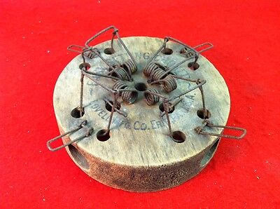 Antique Vtg CHOKER 4 HOLE Guillotine MOUSETRAP Wood & Wire Mouse Trap Lovell Mfg