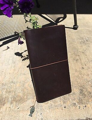 Midori Traveler's Notebook- Brown