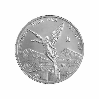 2017 Silver Libertad | 1/10 oz Mexican Silver Coin Direct From Mint Bag