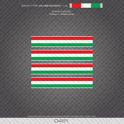 "BIANCHI Passione Celeste--sticker//decal -Italian colors--1.5/"" x 2.75/"" SET OF 2"